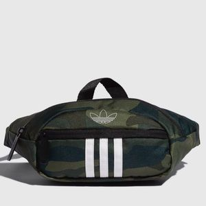 🆕 adidas National 3 Stripes Waist Pack Camo